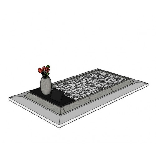 Coffre en granit